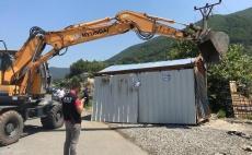 IKMT aksion në aksin Milot-Rrëshen, prishen 35 objekte  31.07.2019