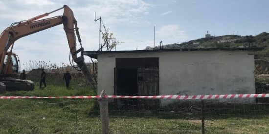 IKMT prish dy objekte pa leje në Porto Romano, Durrës 04.04.2019
